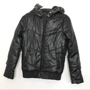 (2for20) DC Black Snow Puffer Jacket (Xs)